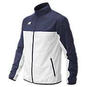 Men's Athletics Warmup Jacket, Team Navy