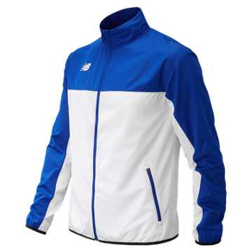 Men's Athletics Warmup Jacket, Team Royal