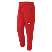 Men's Athletics Warmup Pant, Team Red