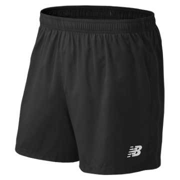 "Men's Athletics 5"" Short, Team Black"