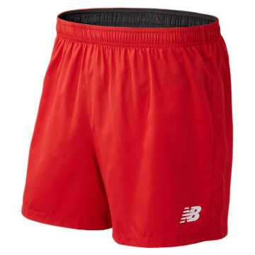"Men's Athletics 5"" Short, Team Red"
