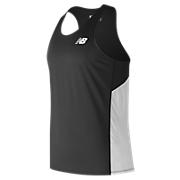 Men's Athletics Singlet, Team Black