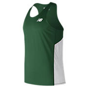 Men's Athletics Singlet, Dark Green