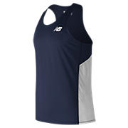 Men's Athletics Singlet, Team Navy