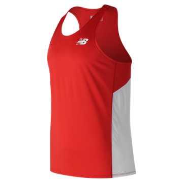 Men's Athletics Singlet, Team Red