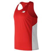 Men's Athletics Singlet, Team Red