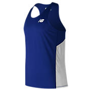 Men's Athletics Singlet, Team Royal