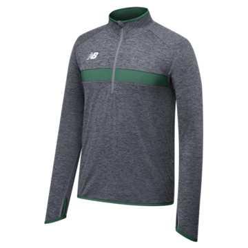 Men's Athletics Half Zip, Team Dark Green
