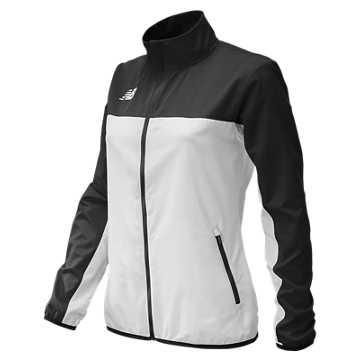 Women's Athletics Warmup Jacket, Team Black