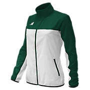 Women's Athletics Warmup Jacket, Dark Green
