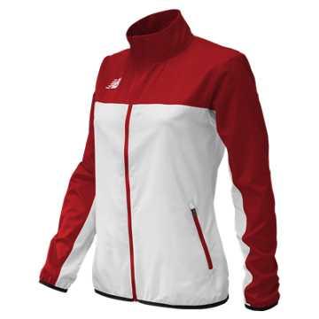 Women's Athletics Warmup Jacket, Team Cardinal