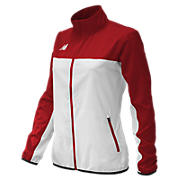 Women's Athletics Warmup Jacket, Team Cardinal