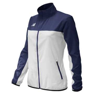 Women's Athletics Warmup Jacket, Team Navy