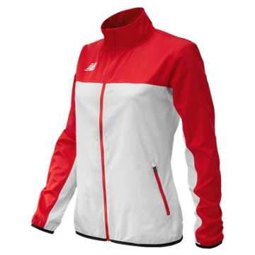 Women's Athletics Warmup Jacket, Team Red