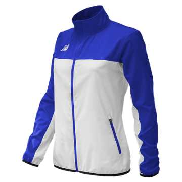 Women's Athletics Warmup Jacket, Team Royal