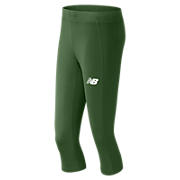 Women's Athletics Capri, Team Dark Green