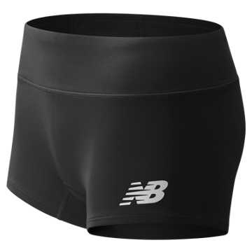 Women's Athletics Boyshort, Team Black