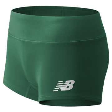Women's Athletics Boyshort, Team Dark Green