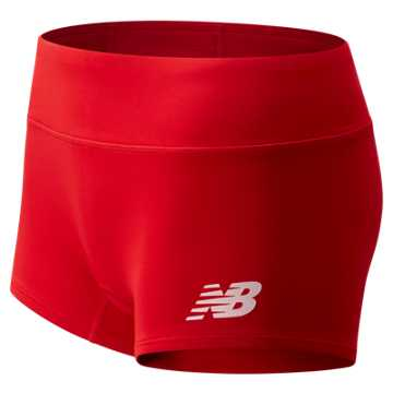 Women's Athletics Boyshort, Team Red