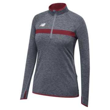 Women's Athletics Half Zip, Team Cardinal