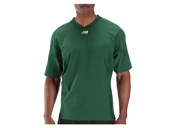 Short Sleeve High Heat Pullover, Team Dark Green