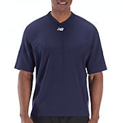 Short Sleeve High Heat Pullover, Team Navy