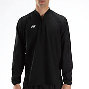 High Heat Half Zip Jacket, Team Black