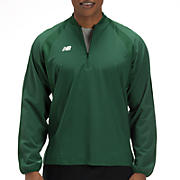 High Heat Half Zip Jacket, Team Dark Green