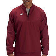 High Heat Half Zip Jacket, Team Cardinal
