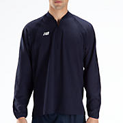 High Heat Half Zip Jacket, Team Navy