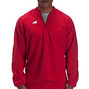 High Heat Half Zip Jacket, Team Red