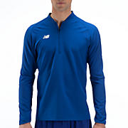 High Heat Half Zip Jacket, Team Royal