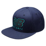 NB Baseball Snapback, Team Navy