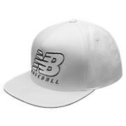 NB Baseball Snapback, White