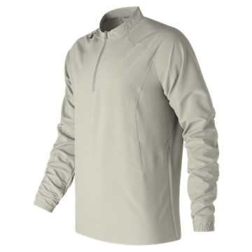 New Balance Long Sleeve Ace Baseball Jacket, Athletic Grey