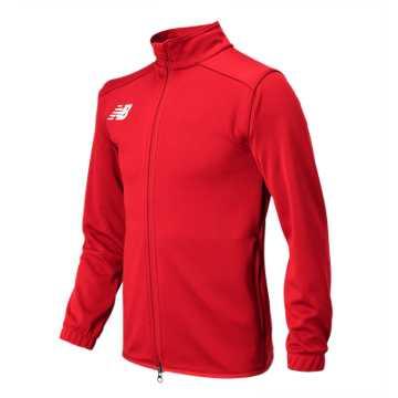 NB Knit Training Jacket, Red