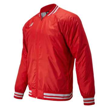 Men's Dug Out Jacket, Team Red