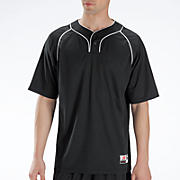 Two Button Jersey, Black