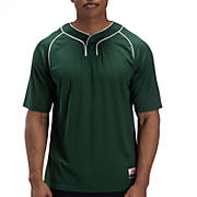 Two Button Jersey, Green