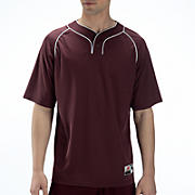 Two Button Jersey, Maroon