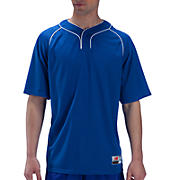 Two Button Jersey, Blue