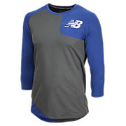 Baseball Asym Base Layer Left, Team Royal