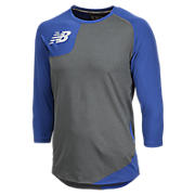 Baseball Asym Base Layer Right, Team Royal