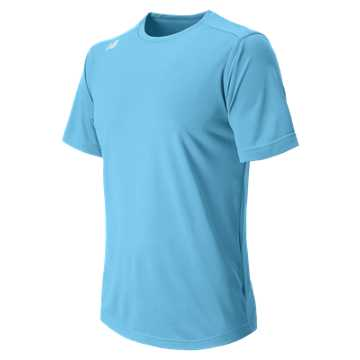 Men's Short Sleeve Tech Tee, Columbia Blue