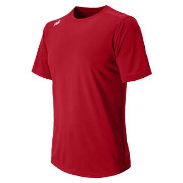Men's Short Sleeve Tech Tee, Team Cardinal