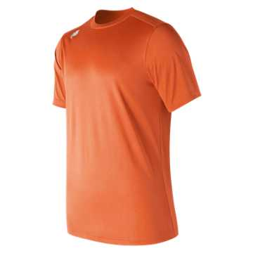 Men's Short Sleeve Tech Tee, Team Orange