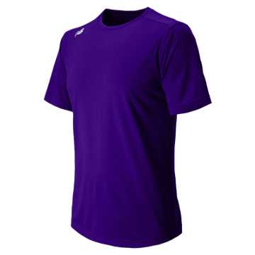Men's Short Sleeve Tech Tee, Purple