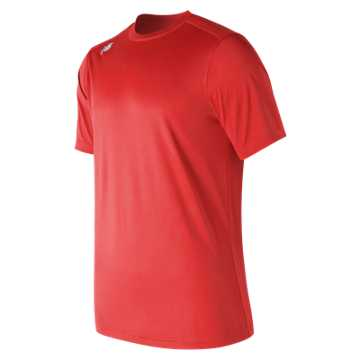 New Balance SS Tech Baseball Tee, Team Red