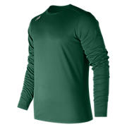 Long Sleeve Tech Tee, Team Dark Green