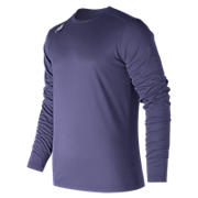 Long Sleeve Tech Tee, Team Navy